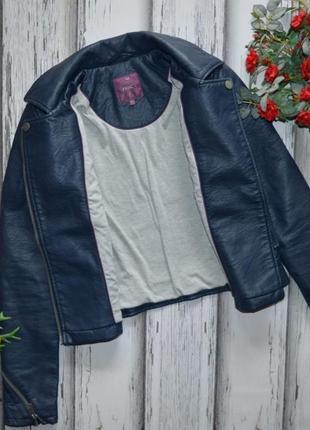 Куртка кожанка косуха next p xs7 фото