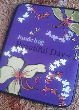 """Універсальний чохол inside bag beautiful day для планшетів та нетбуків 12"""" (чехол)"""