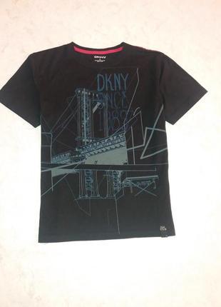 Брендовая футболка dkny s-m