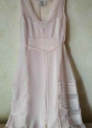 Noa noa шифоновое платье