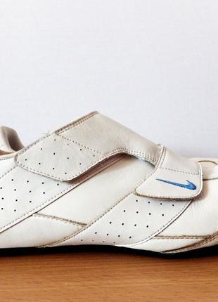 Кроссовки кожаные на липучках nike roubaix ii v оригинал