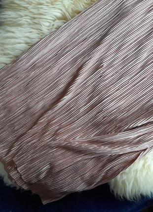 Трендовое платье плиссе в бельевом стиле amisu4 фото