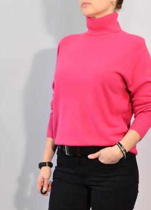 2766\70 розовый свитер с высоким горлом next xxxl2 фото