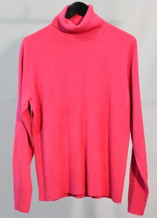 2766\70 розовый свитер с высоким горлом next xxxl6 фото