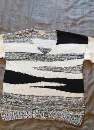 Джемпер. свитер. хлопок. р.56