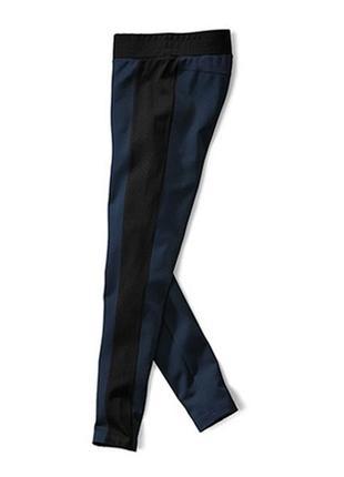 Ультрамодные комбинированные леггинсы tchibo, германия - р. 46-48 укр.