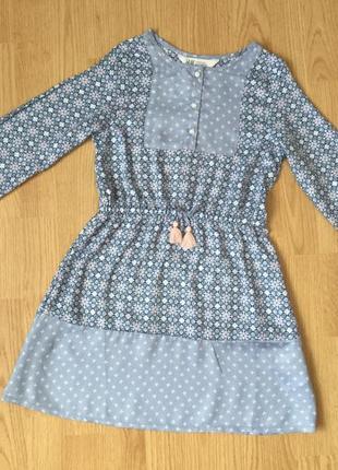 Платье. размер 7-8 лет