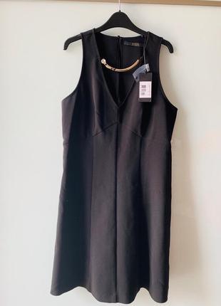 Guess маленькое черное платье размер s /m оригинал скидка нюанс сукня  плаття1 фото