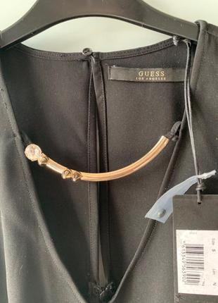 Guess маленькое черное платье размер s /m оригинал скидка нюанс сукня  плаття9 фото