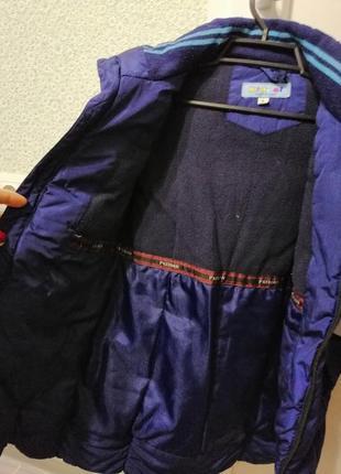 Зимний пуховик куртка  5,6,7 лет