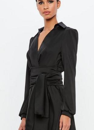 Платье кимоно атласное  peace & love премиум! premium lux!2 фото