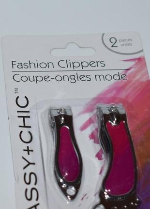 Новый маникюрный набор мини sassy+chic 2 pieces clippers оригинал сша
