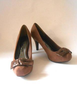 Фирменные туфли george, р.38 код t3812