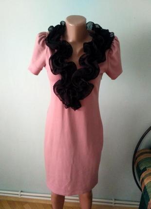 Плаття на короткий рукав класика платье