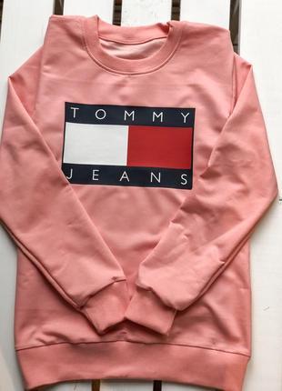 Свитшот tommy jeans все размеры / разные цвета