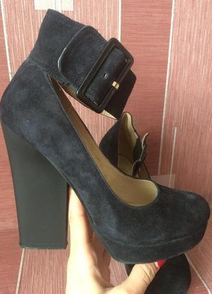 Туфлі замш 👠