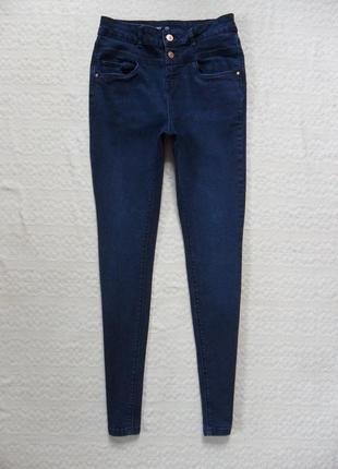 Стильные джинсы скинни с высокой талией c&a, 10-12 размер.