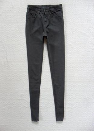 Стильные джинсы скинни с высокой талией clockhouse, s размер.