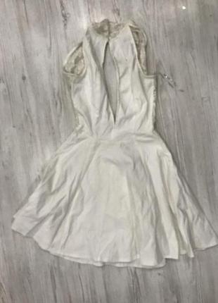 Короткое мини платье rare london