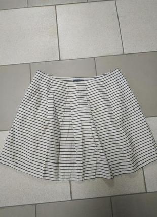 Хлопковая юбка на подкладке от marc o polo