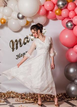 Ідеальна біла сукня!1 фото