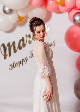 Ідеальна біла сукня!2 фото