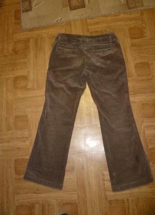 Микровельветовые фирменные штаны(джинсы) весна-осень,утягивают,невысокий рост2 фото