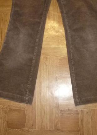 Микровельветовые фирменные штаны(джинсы) весна-осень,утягивают,невысокий рост5 фото