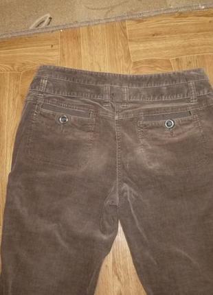 Микровельветовые фирменные штаны(джинсы) весна-осень,утягивают,невысокий рост4 фото