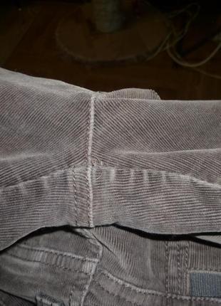 Микровельветовые фирменные штаны(джинсы) весна-осень,утягивают,невысокий рост6 фото