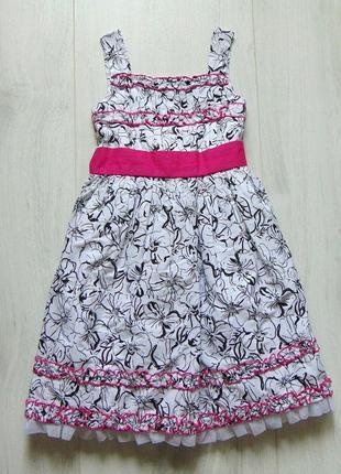 Шикарное пышное платье для девочки. rosanna. размер 8 лет