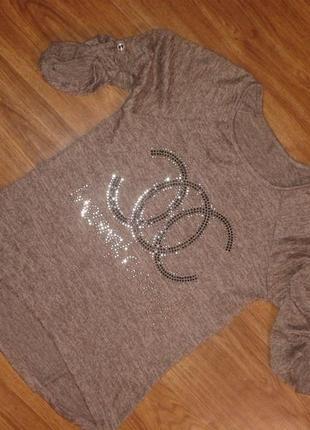 Шикарная фирменная кофточка,блуза,джемпер