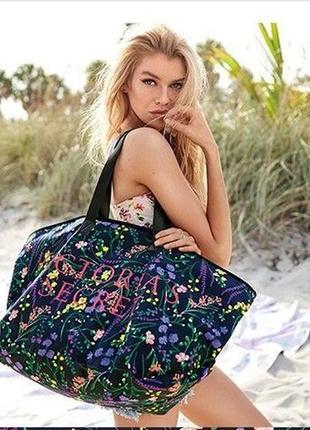 Большая пляжная сумка victoria's secret - оригинал