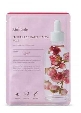 Mamonde питательная маска с экстрактом розы , 25 мл