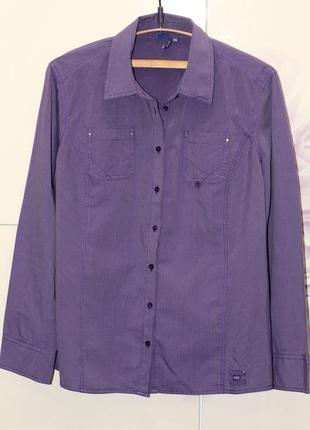 Стильная офисная блуза, рубашка cecil 54-56
