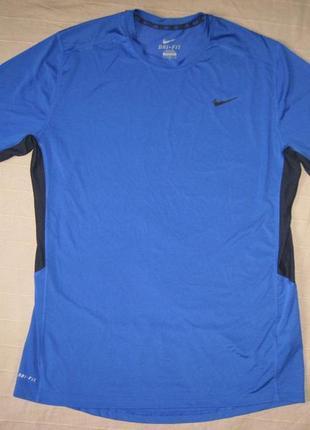 Nike dri-fit (l) спортивная футболка мужская