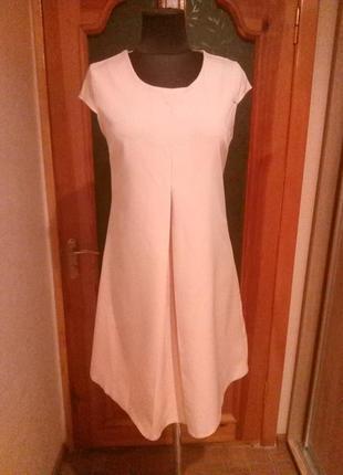Супер платье светлый персик