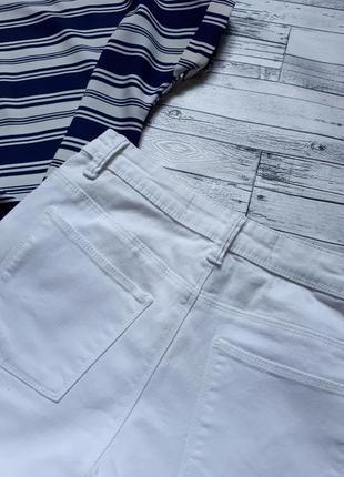 Крутые белые джинсы скинни2 фото