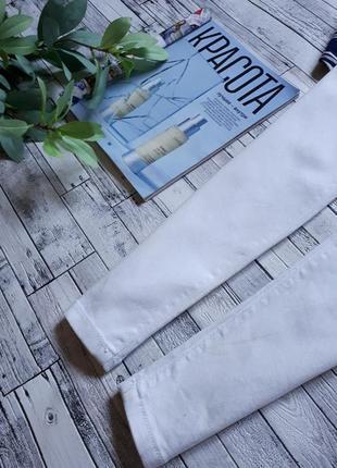 Крутые белые джинсы скинни3 фото