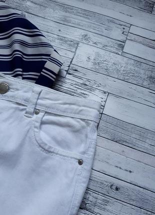 Крутые белые джинсы скинни5 фото