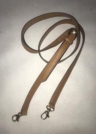 Кожаный наплечный ремень для сумки