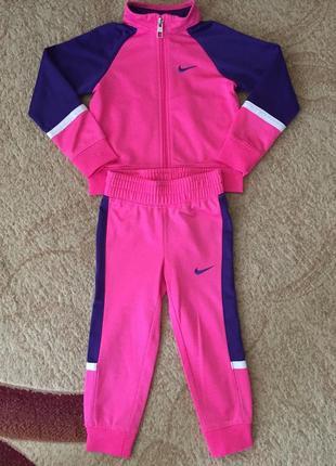 Спортивний костюмчик для дівчинки nike оригінал/2 роки