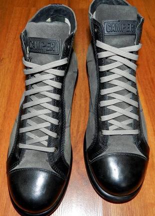 Camper ! оригинальные, стильные,кожаные невероятно крутые ботинки