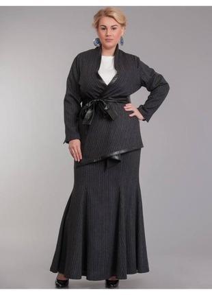Дизайнерский шерстяной костюм