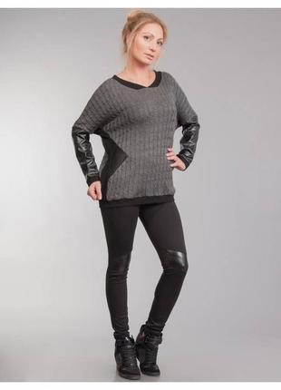Дизайнерские чёрный брюки одди