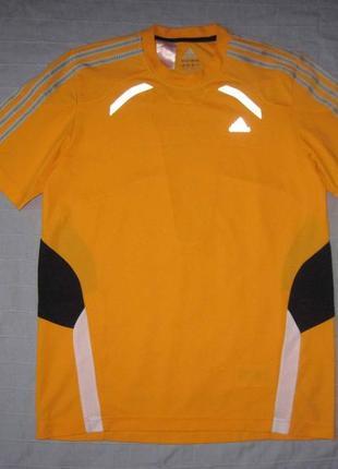 Adidas (176 см) спортивная футболка подростковая