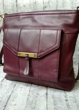 Вместительная сумочка naturalizer из натуральной кожи, цвет