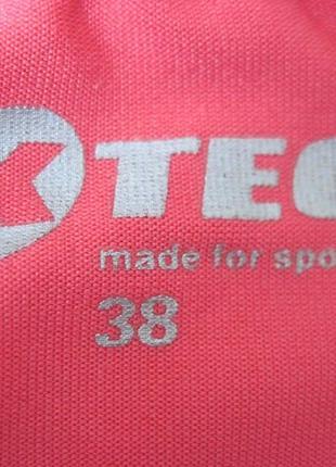 K-tec (s/38) спортивная футболка женская3 фото