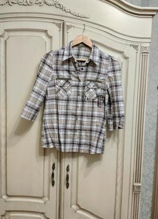 Рубашка блуза тенниска