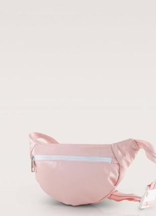 Розовая бананка поясна сумка италия карпиза1